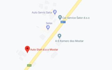 Mostar: Trg Ivana Krndelja BB